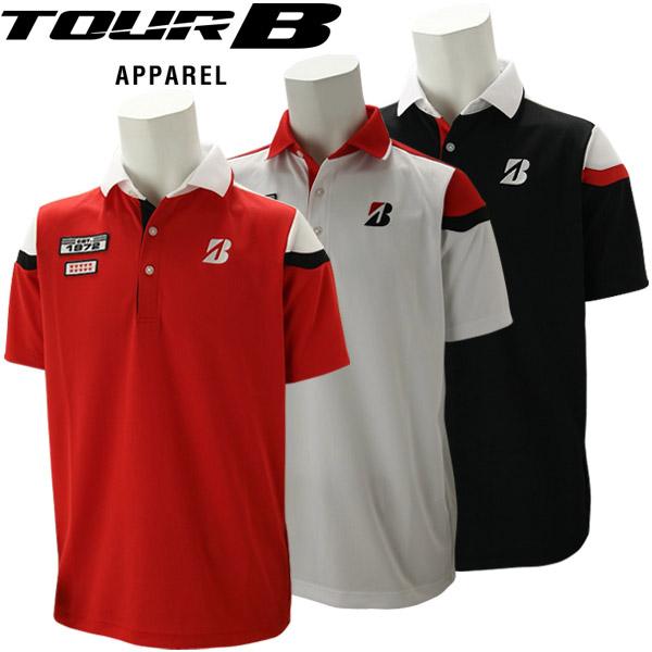 ブリヂストンゴルフ TOUR B ゴルフウェア メンズ 半袖ポロシャツ RGMM1A 2020春夏