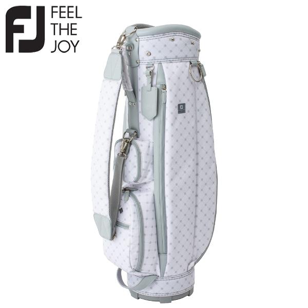 フットジョイ ゴルフ FJ アーガイル シリーズ ゴルフバッグ キャディバッグ レディース FB20CTW 2020モデル