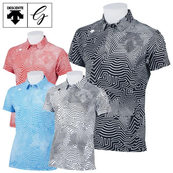 デサントゴルフ ゴルフウェア メンズ 半袖 ショートスリーブシャツ DGMPJA23 2020春夏
