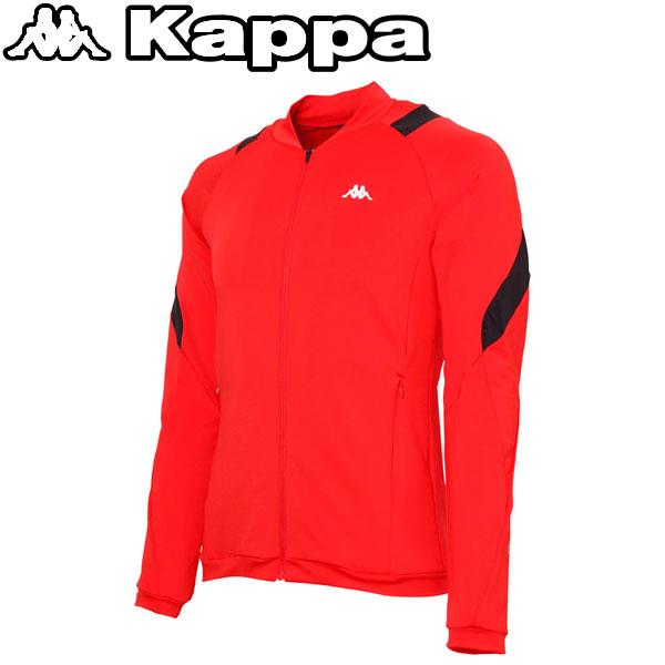 カッパ ランニング トレーニングジャケット メンズ KR612KT31-RD