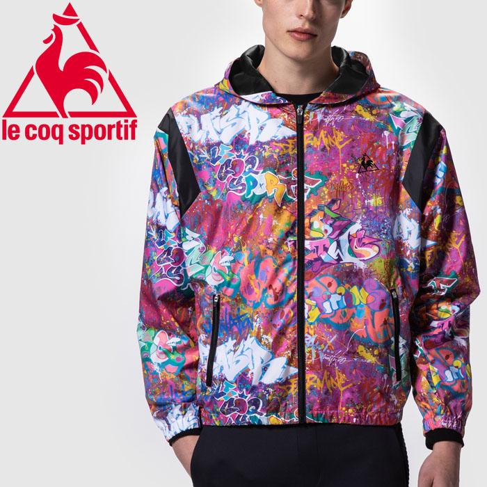 ルコック NOE TWO Graphic Jacket ジャケット メンズ レディース QMMOGK00-PNK