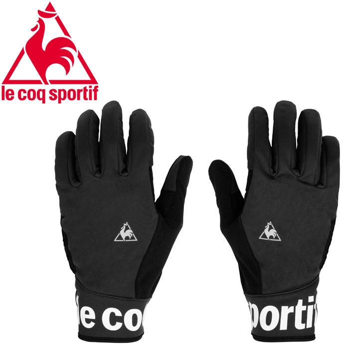 ルコック サイクル Full Finger Mega Pad Gloves フルフィンガー厚手パッドグローブ QCAOGD04-BLK