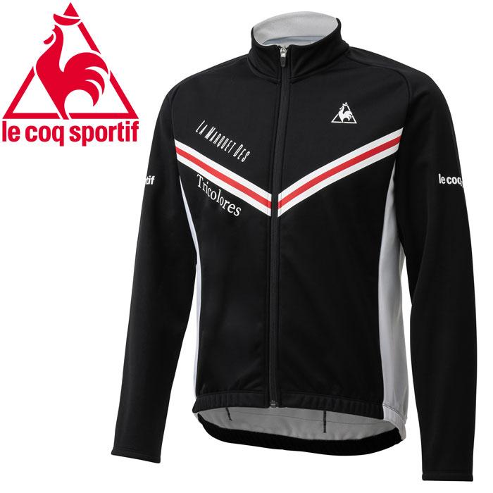 ルコック サイクル Entry Bondling Fleece Jersey エントリーボンディングジャケット メンズ QCMOGC70-BLK