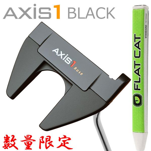 数量限定 AXIS1 ROSE BLACK マレット パター フラットキャット グリップ仕様 2020 日本正規品 アクシスワン ローズ ブラック