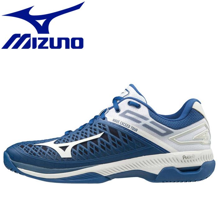 ミズノ テニス ソフトテニス ウエーブエクシード ツアー4 AC ユニセックス 61GA207027 シューズ