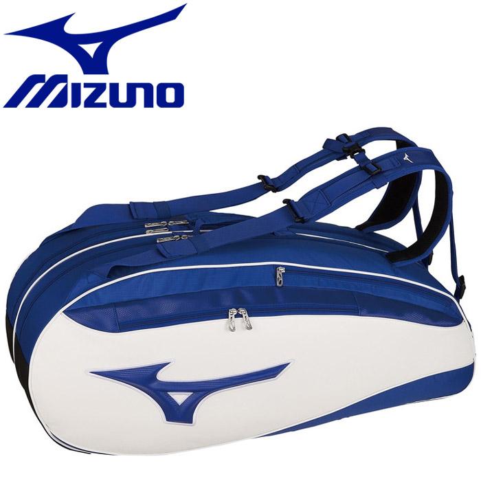 ミズノ テニス ソフトテニス ラケットバッグ 6本入れ 63JD002027
