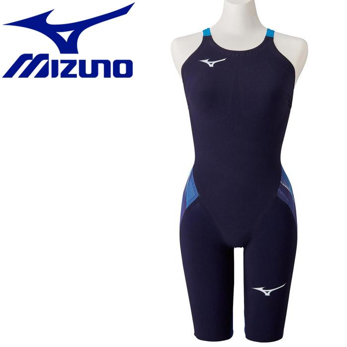 【メール便送料無料】 ミズノ スイム 競泳用GX・SONIC V MR ハーフスーツ レディース N2MG020220