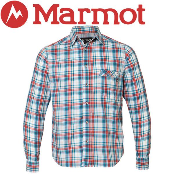 【2枚までメール便対応】マーモット QD Tartan Check L/S Shirt シャツ メンズ TOMLJB75-TRC【規定の数量以上から宅配便で発送(送料加算)】