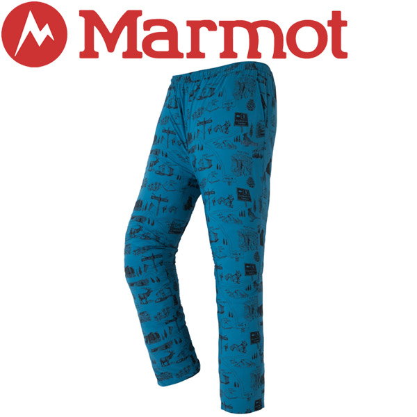 マーモット Ws Compact Monpe Pant パンツ レディース TOWLJD94YY-SEA