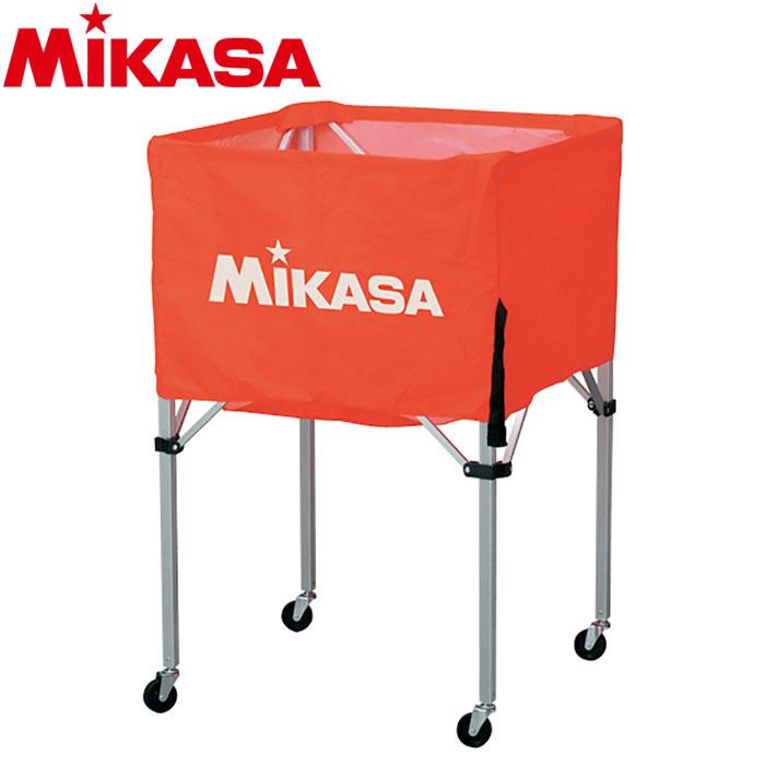 ミカサ ボールカゴ 箱型 大 オレンジ BC-SP-H-O 9068007