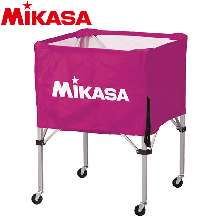 ミカサ ボールカゴ 箱型 大 バイオレット BC-SP-H-V 9068004