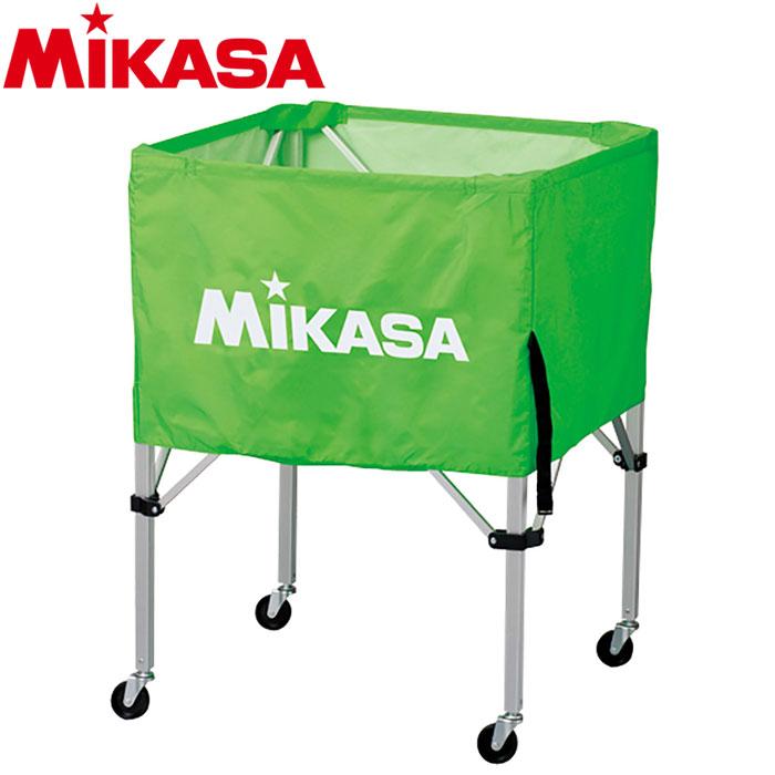 ミカサ ボールカゴ 箱型 中 ライトグリーン BC-SP-S-LG 9068018
