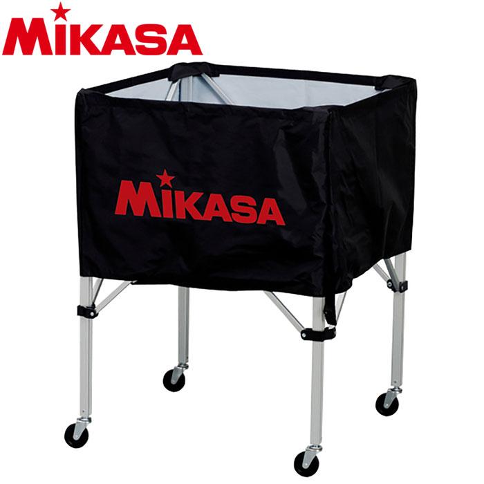ミカサ ボールカゴ 箱型 小 ブラック BC-SP-SS-BK 9068025