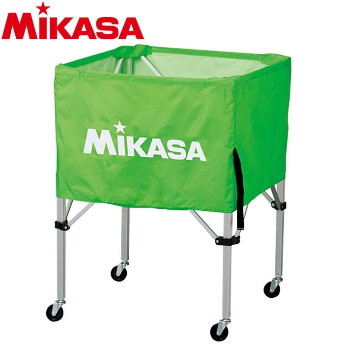 ミカサ ボールカゴ 箱型 小 ライトグリーン BC-SP-SS-LG 9068028