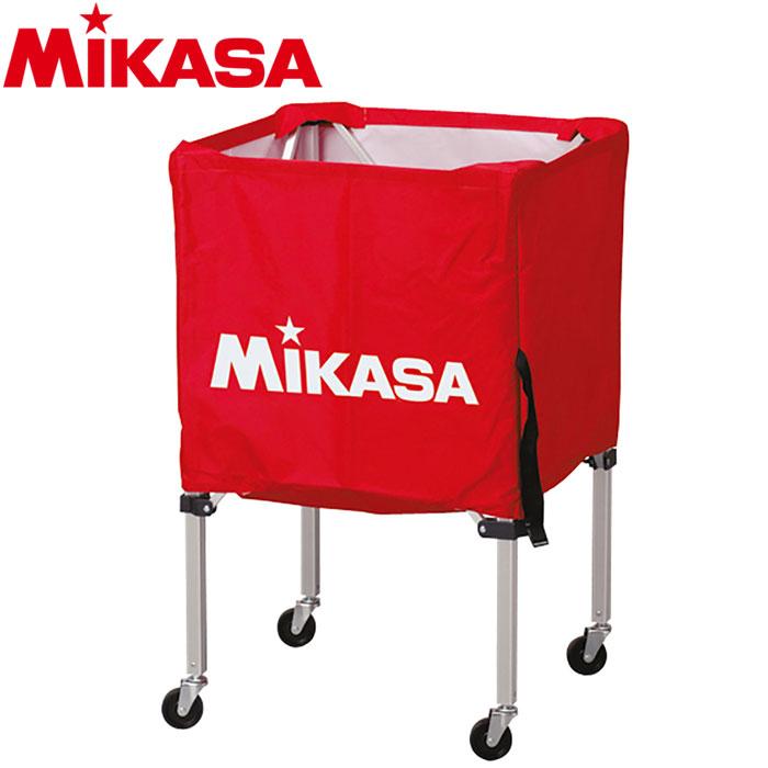 ミカサ ボールカゴ 箱型 小 レッド BC-SP-SS-R 9068020