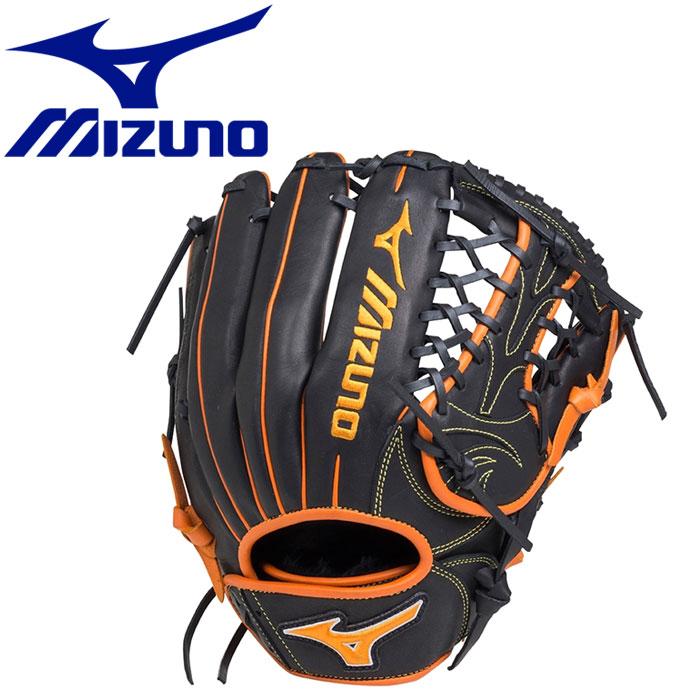 ミズノ エレメントフュージョンUMiX ソフトボール用 U2 投手×外野 :サイズ11 グラブ 1AJGS184100951