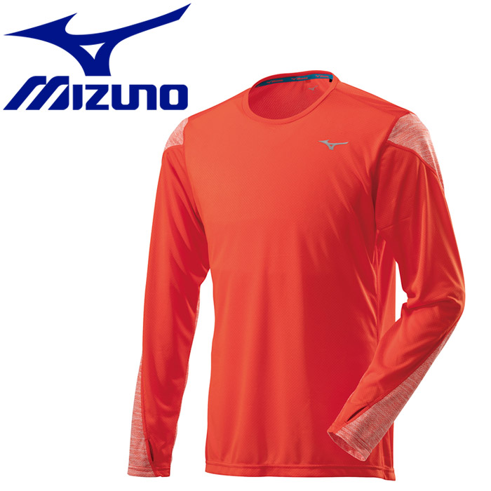 Sleeves Running T Men FzoneMizuno Shirt Long J2ma851154Rakuten L4ARjq53