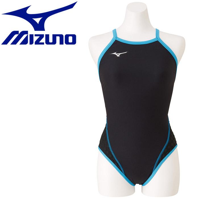 ミズノ 水泳 エクサースーツ WD ミディアムカット 練習水着 レディース N2MA777692