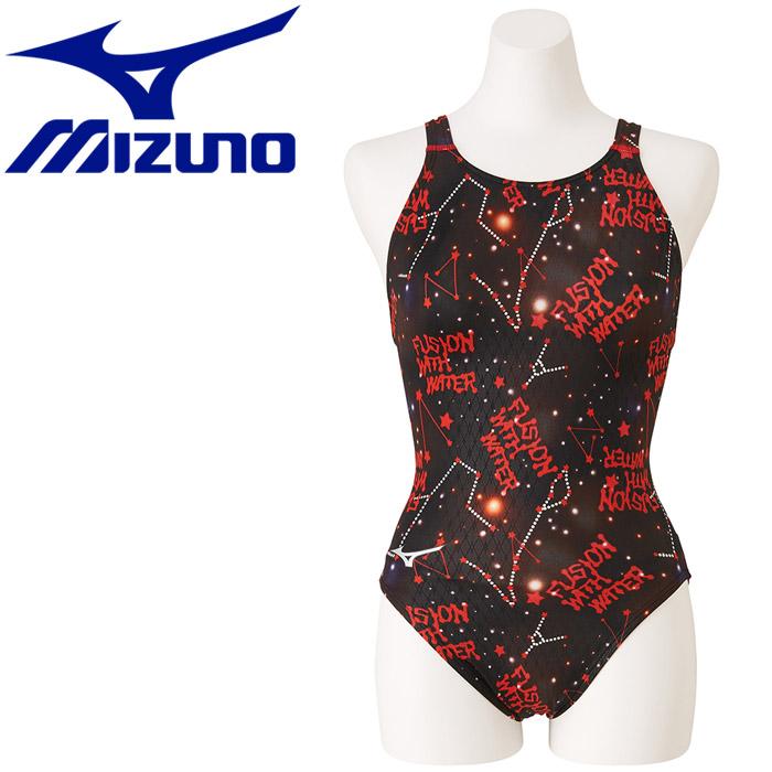 ミズノ 水泳 ストリームアクティバ ローカット オープン 競技水着 レディース N2MA974862