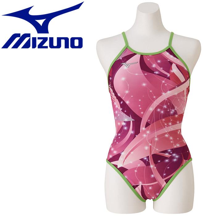 ミズノ 水泳 エクサースーツ ミディアムカット 練習水着 レディース N2MA976165