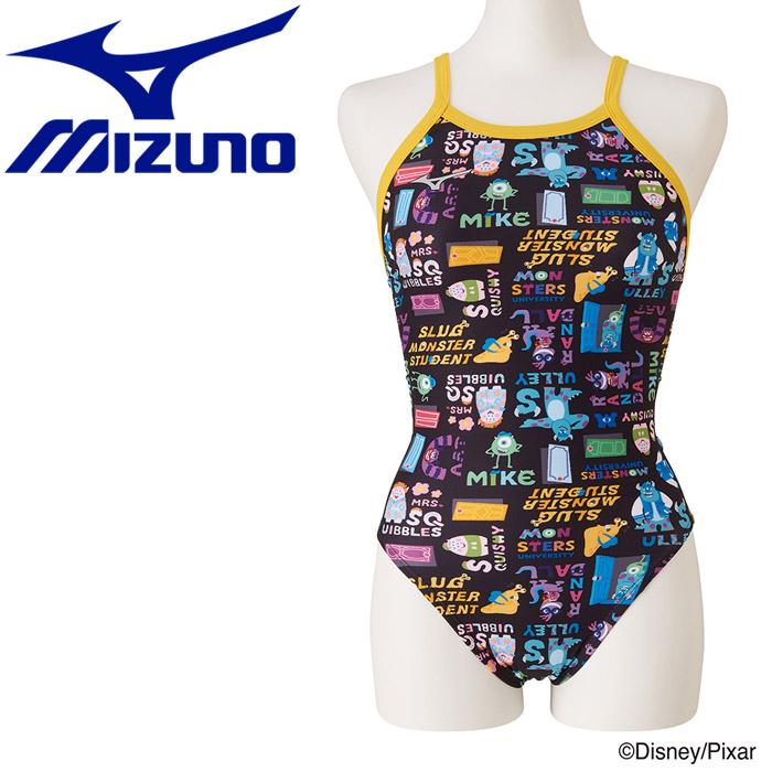 ミズノ 水泳 Disney エクサースーツ ミディアムカット 水着 レディース N2MA978109