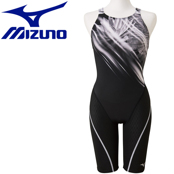 ミズノ 水泳 ストリームアクティバ ハーフスーツ オープン 競技水着 レディース N2MG975309