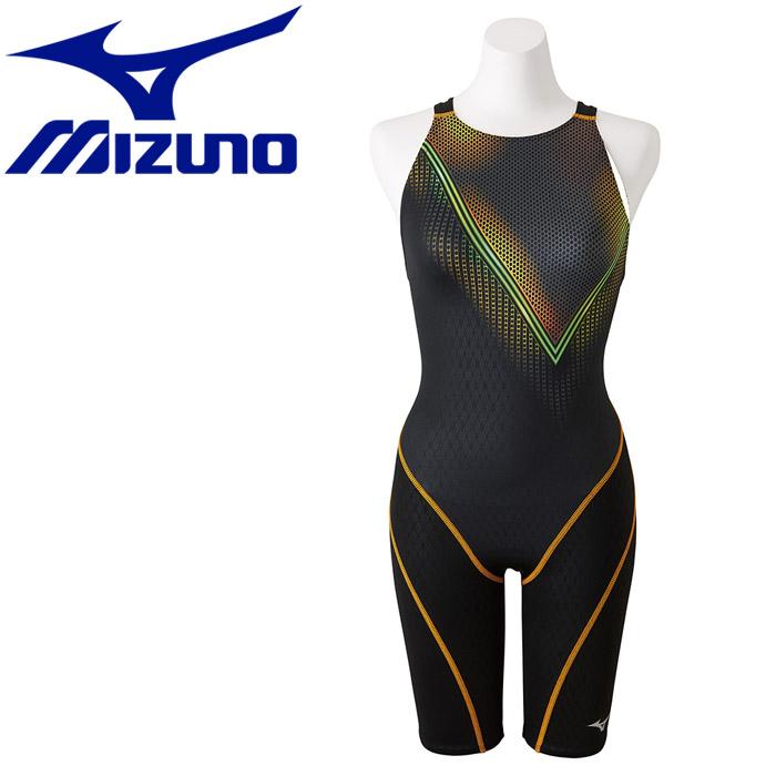 ミズノ ストリームアクティバ ハーフスーツ オープン 水着 レディース N2MG874794 《返品不可》