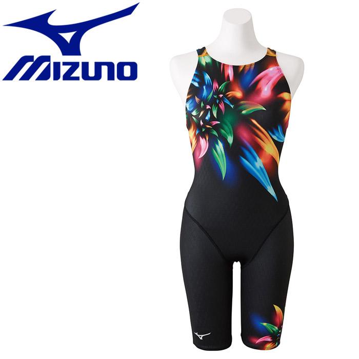 ミズノ ストリームアクティバ ハーフスーツ オープン 水着 レディース N2MG875095