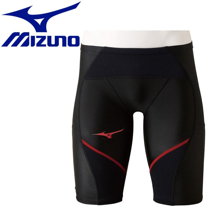 ミズノ 水泳 エクサースーツ FG-I ハーフスパッツ 練習水着 メンズ レディース N2MB957796