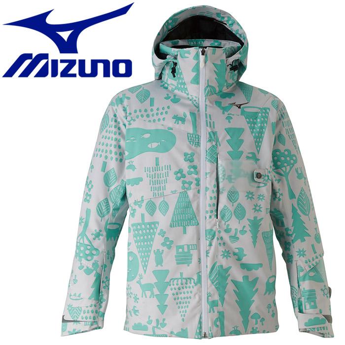 ミズノ ウインター Mizuno Demo Team Print Parka パーカー メンズ レディース Z2ME932282