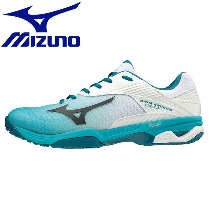 ミズノ ウエーブエクシード TOUR 3 OC テニスシューズ メンズ レディース 61GB187235
