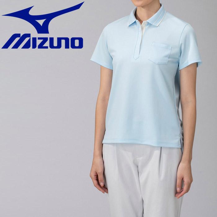 ミズノ アイスタッチハンソデポロシャツ レディース B2MA923129