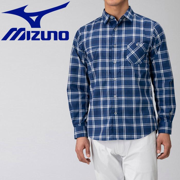 ミズノ マジックドライ長袖トレイルシャツ メンズ B2MC900613