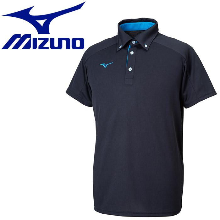 【メール便送料無料】ミズノ TL ポロシャツ ボタンダウン メンズ レディース 32MA918009:FZONEスポーツ