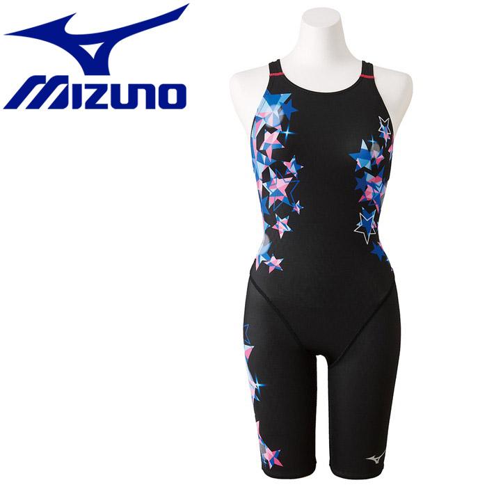 ミズノ ストリームアクティバ ハーフスーツ オープン 競技水着 レディース N2MG924692