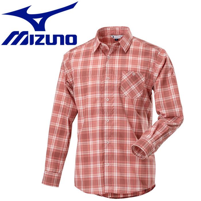 ミズノ マジックドライ長袖トレイルシャツ メンズ B2MC900664
