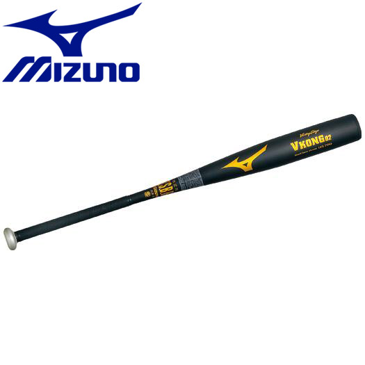 ミズノ 野球 軟式用ビクトリーステージVコング02 金属製 84cm 平均750g バット 2TR4334009N