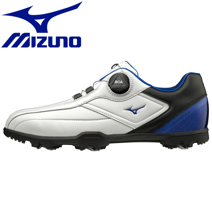 ミズノ ライトスタイル003ボア EEE ゴルフシューズ メンズ 51GM196022