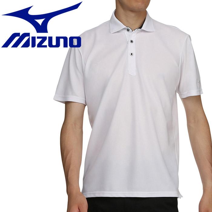 ミズノ ゴルフ 半袖シャツ シャツ衿 メンズ 52MA9A0201
