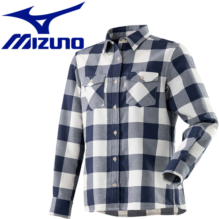 ミズノ ブレスサーモ ウールトレイルシャツ レディース A2MC870314