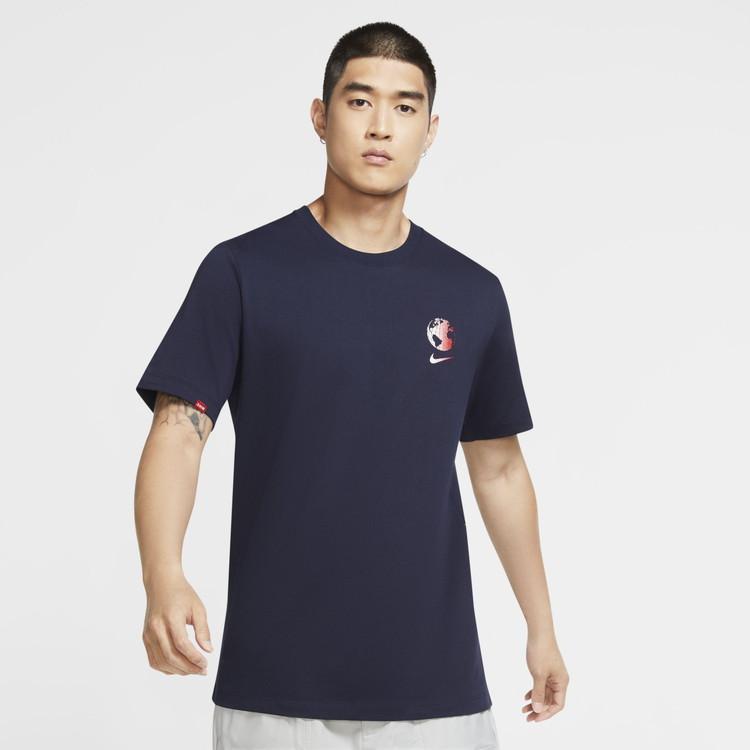 タイムセール 在庫一掃セール メール便送料無料 ナイキ 激安特価品 NIKE !超美品再入荷品質至上! スポーツウェア 返品不可 DA8860-400 WORLDWIDE NSW メンズ Tシャツ