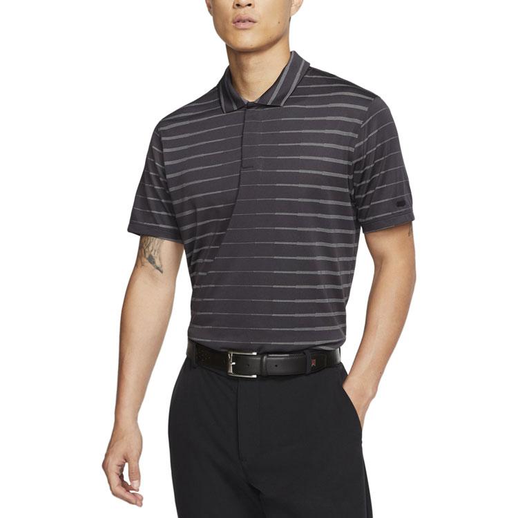 【メール便送料無料】 ナイキ ゴルフ 半袖 ポロシャツ Dri-FIT タイガー ウッズ メンズ BV0350-010 並行輸入品