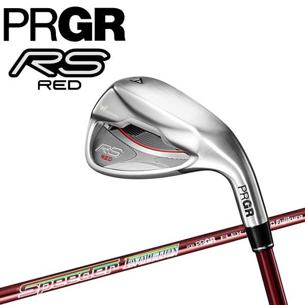 【4月12日発売予定 初回入荷分】 プロギア 2019 RS RED アイアン 単品 Speeder Evolution for PRGR カーボン