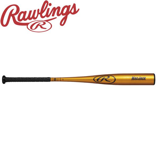 ローリングス 野球 硬式用バット MAC JACK ミドルバランス BH8MJ-OG