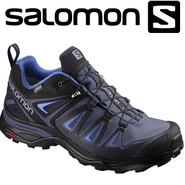 サロモン X ULTRA 3 GTX W ハイキング&マルチファンクション シューズ レディース L40002700