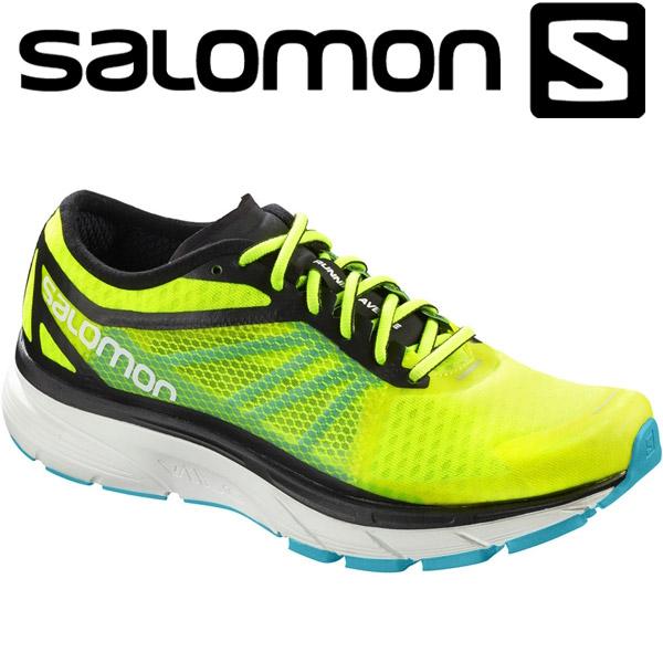 【在庫処分】サロモン SONIC RA ロードランニングシューズ メンズ L400092