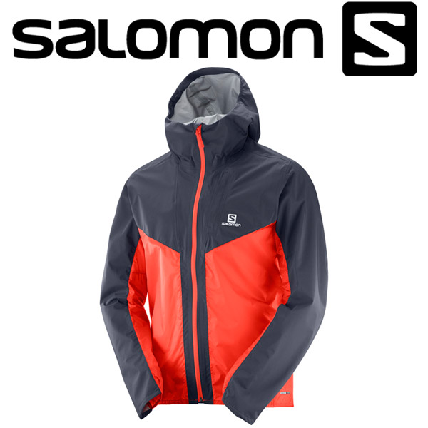 サロモン OUTSPEED HYBRID JKT M ハイキング&マウンテニアリング ジャケット メンズ L40077800