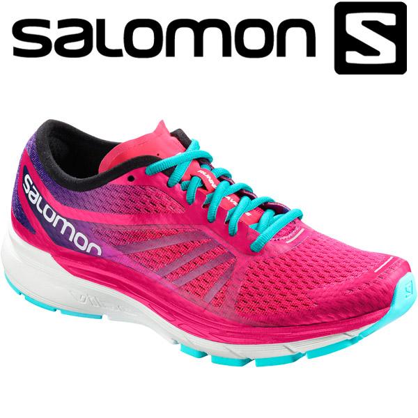 サロモン SONIC RA PRO W ランニングシューズ レディース L40144100