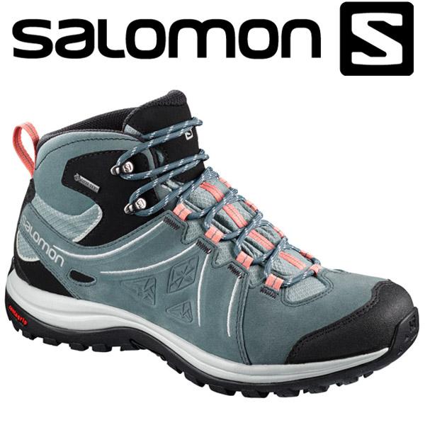 サロモン ELLIPSE 2 MID LTR GORE-TEX W ハイキング&マルチファンクション シューズ レディース L40162600