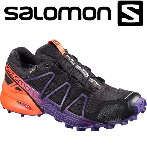 サロモン SPEEDCROSS 4 GTX LTD W トレイル ランニングシューズ レディース L40178000